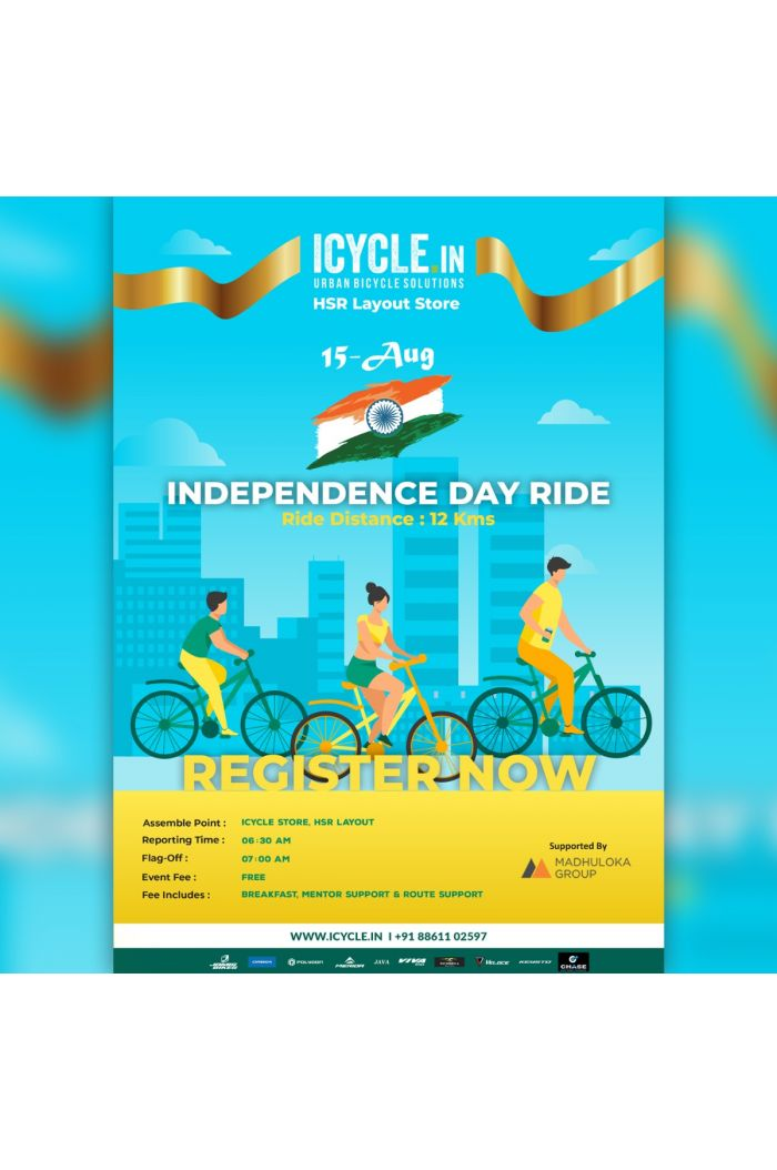 ICYCLE - INDEPENDENCE DAY RIDE